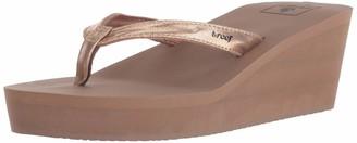 Reef Women's Sandals Midnight   Stylish Classic Platform Flip Flop for Women