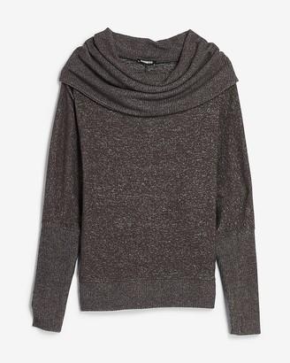 Express Cowl Neck Dolman Sleeve Tunic Sweater
