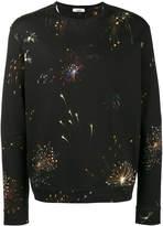 Valentino fireworks print sweatshirt
