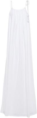 The Row Dresia Open-back Cotton-jersey Maxi Dress
