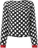 Diesel polka dot blouse - women - Viscose - XS