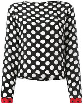 Diesel polka dot blouse