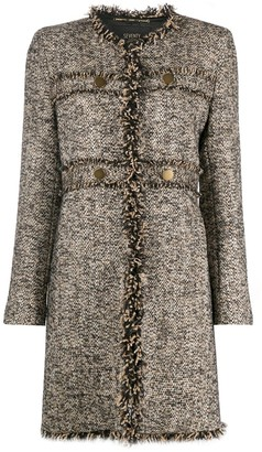 Seventy Midi Tweed Coat