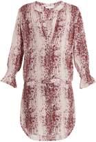Heidi Klein Monaco snakeskin-print tunic dress