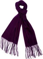 A & R Cashmere a&R Cashmere Cashmere & Wool Waterweave Scarf, Heather Grey.