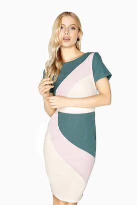 Paper Dolls Nazaire Colour Block Dress