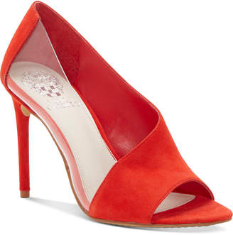 Vince Camuto Rivestan Clear-Panel Pumps Women Shoes