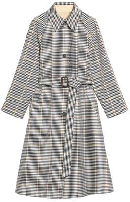 Max Mara Cotton Arlette Reversible Trench Coat
