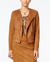 Thalia Sodi Thali Sodi Faux-Suede Moto Jacket, Only at Macy's