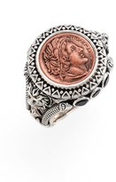 Konstantino Women's 'Aeolus - Ptolemy' Coin Ring