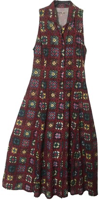 Replay Brown Cotton Dress for Women Vintage