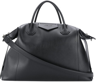 Givenchy Black Antigona Soft Xl Weekender Bag