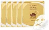 Skin79 Golden Snail Gel Mask (24K) - Set of 5