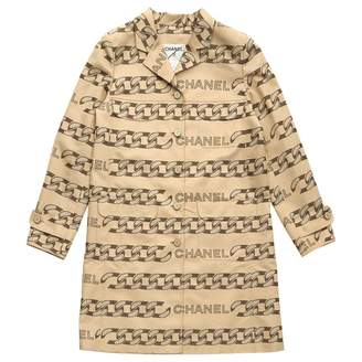 Chanel Beige Polyester Jackets