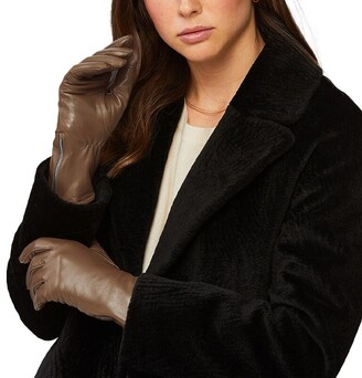 Soia & Kyo Meena-N Leather Gloves - Camel S