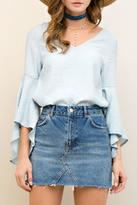 Entro Bell Sleeve Top