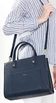 Esprit Grained faux leather satchel bag