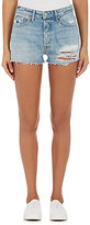 GRLFRND Women's Cindy Distressed Denim Cutoff Shorts