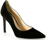 Roberto Festa 10005 - Suede Wavy Tapered Pumps in Black