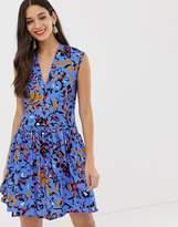 Closet London Closet drop waist wrap dress
