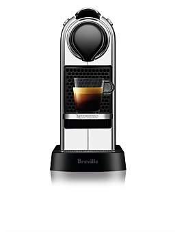 Nespresso Bec630Cro Citiz Espresso Coffee Machine - Chrome