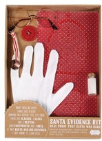 Mud Pie Santa Evidence Kit