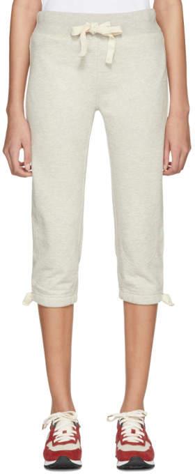 Visvim Grey Three-Quarter Lounge Pants