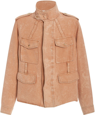 Rochas Quivers Woven Silk Jacket