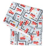 Bumkins Waterproof Splat Mat, Fire Engine