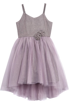 Zunie Sparkle Tulle Fit & Flare Dress