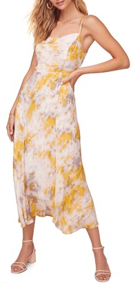 ASTR the Label Journey Sleeveless Printed Maxi Dress