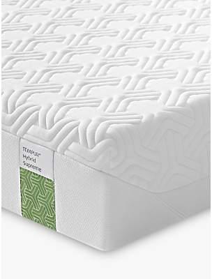 Tempur Hybrid Supreme 21 Pocket Spring Memory Foam Mattress, Medium Tension, Continental King Size