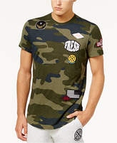 American Rag Men's Patches Camo T-Shirt, Created for Macy's