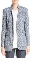 St. John Women's Devaj Jacquard Knit Jacket