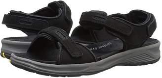 DREW Cascade (Black Nubuck) Women's Sandals