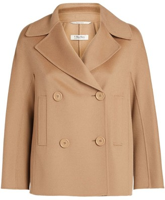 Max Mara Wool Connie Double-Breasted Jacket
