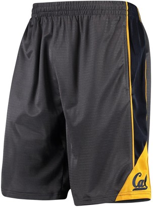 Colosseum Men's Charcoal Cal Bears Turnover Shorts
