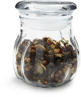 Anchor Hocking Ribbed Glass Spice Jar