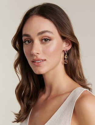 Forever New Christina Jewelled Drop Earrings - Multi - 00