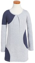 Tucker + Tate Dot Fleece Dress (Toddler Girls, Little Girls & Big Girls)