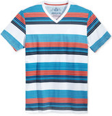 American Rag Men's Striped V-Neck T-Shirt, Only at Macy's