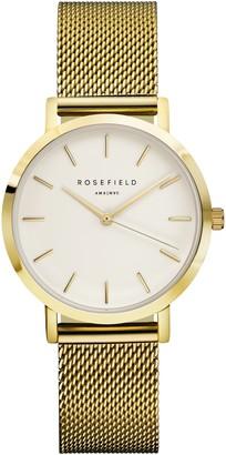 ROSEFIELD Women's The Tribeca Mesh Bracelet Strap Watch