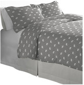 Pointehaven 175 GSM Cotton Flannel Duvet Set, Polar Bear, King/Cal Kin