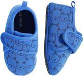 Joe Fresh Baby Boys' Print Slippers, Blue Jay (Size S)