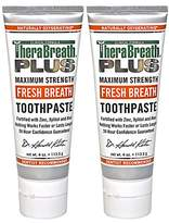 TheraBreath PLUS Professional Formula Fresh Breath Toothpaste - Extra Strength