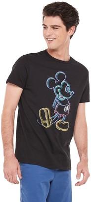 Disney Men's Mickey Mouse Outline Tee