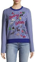 Opening Ceremony Gingham Map Sweater