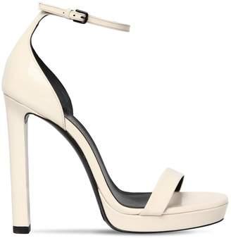 Saint Laurent 120mm Hall Patent Leather Sandals