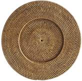 Pier 1 Imports Brown Rattan Round Charger Plate