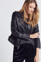 BCBGeneration Leather Moto Jacket - Black
